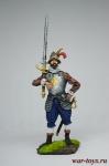 Европейский солдат с мечом, 16 век