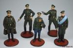 Набор оловянных солдатиков - Первая мировая - Набор оловянных солдатиков 5 шт. Высота солдатиков 54 мм.