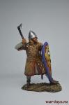 Норманнский рыцарь, 11 век - Оловянный солдатик коллекционная роспись 54 мм. Все оловянные солдатики расписываются художником вручную