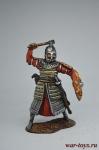 Тяжеловооруженный золотоордынский воин, 14 век. - Оловянный солдатик коллекционная роспись 54 мм. Все оловянные солдатики расписываются художником вручную
