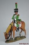Кавалерист 2-го полка конных егерей, Италия 1812