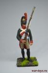 Драгун караула 1808 - Оловянный солдатик коллекционная роспись 54 мм. Все оловянные солдатики расписываются художником вручную