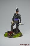 Британский Офицер 1815 - Оловянный солдатик коллекционная роспись 54 мм. Все оловянные солдатики расписываются художником вручную
