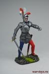 Немецкий рыцарь, 1500 год - Оловянный солдатик коллекционная роспись 54 мм. Все оловянные солдатики расписываются художником вручную