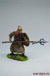 Монгольский воин, 14 век. - Оловянный солдатик коллекционная роспись 54 мм. Все оловянные солдатики расписываются художником вручную