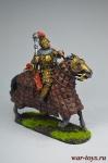 Золотоордынский военачальник, 14 век - Оловянный солдатик коллекционная роспись 54 мм. Все оловянные солдатики расписываются художником вручную