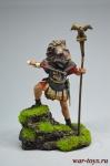Римский Аквилифер, I-II вв. - Оловянный солдатик коллекционная роспись 54 мм. Все оловянные солдатики расписываются художником вручную