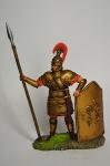 Тяжеловооруженный микенский воин. 1600 г. до н. э.