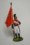 Знаменосец 4-го пех. Плк. фон Франкемона. Вюртемберг, 1811-12