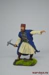 Албанский офицер, XVIII век - Оловянный солдатик коллекционная роспись 54 мм. Все оловянные солдатики расписываются художником вручную