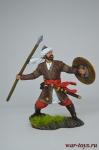 Воин-сарацин, 12 век - Оловянный солдатик коллекционная роспись 54 мм. Все оловянные солдатики расписываются художником вручную