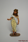 Египетская принцесса - Оловянный солдатик коллекционная роспись 54 мм. Все оловянные солдатики расписываются художником вручную