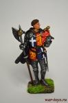 Джон Ланкастерский,граф Бедфорд - Оловянный солдатик коллекционная роспись 54 мм. Все оловянные солдатики расписываются художником вручную