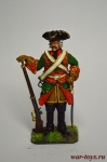 Кавалергард 1724 год - Оловянный солдатик коллекционная роспись 54 мм. Все оловянные солдатики расписываются художником вручную