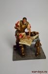 Марк Антоний, I в.до н.э. - Оловянный солдатик коллекционная роспись 54 мм. Все оловянные солдатики расписываются художником вручную