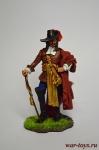 Франсуа Олоне, 1660 - Оловянный солдатик коллекционная роспись 54 мм. Все оловянные солдатики расписываются художником вручную