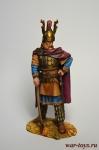 Галльский военный вождь 3 в до н.э. - Оловянный солдатик коллекционная роспись 54 мм. Все оловянные солдатики расписываются художником вручную
