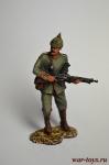 Унтер-офицер 45 пехотного полка, Германия, 1914 год. - Оловянный солдатик коллекционная роспись 54 мм. Все оловянные солдатики расписываются художником вручную