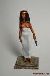 Египетская девушка 65 мм - Оловянный солдатик коллекционная роспись 54 мм. Все оловянные солдатики расписываются художником вручную