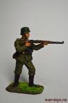 Немецкий пехотинец с винтовкой Mauser 98, 1944-45