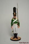 Гренадер Смоленского мушкетерского полка. Россия, 1805-07