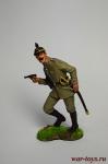 Лейтенант прусского 1 Пешего гвардейского полка, Германия, 1914  - Оловянный солдатик коллекционная роспись 54 мм. Все оловянные солдатики расписываются художником вручную