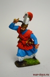Янычарский офицер, 18 век. Османская империя