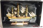 Великие парусники. «Америго Веспуччи» - Модель корабля. Размер коробочки с парусником: 195 мм х 144 мм х 70 мм.