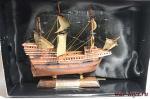 Великие парусники. «Мэйфлауэр» - Модель корабля. Размер коробочки с парусником: 195 мм х 144 мм х 70 мм.