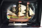 Великие парусники. «Амстердам» - Модель корабля. Размер коробочки с парусником: 195 мм х 144 мм х 70 мм.