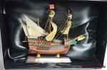 Великие парусники. «Санта Катарина ду Монте Синай» - Модель корабля. Размер коробочки с парусником: 195 мм х 144 мм х 70 мм.