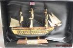 Великие парусники. «HMS Viktory» - Модель корабля. Размер коробочки с парусником: 195 мм х 144 мм х 70 мм.
