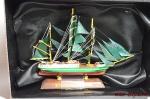 Великие парусники. «Alexander Von Humboldt» - Модель корабля. Размер коробочки с парусником: 195 мм х 144 мм х 70 мм.