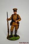 Рядовой пехотного полка. Великобритания, 1914-18 гг. - Оловянный солдатик коллекционная роспись 54 мм. Все оловянные солдатики расписываются художником вручную