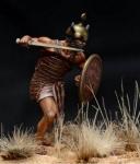 Шерден - телохранитель фараона, XIII-XII века до н.э. - Оловянный солдатик, белый металл (набор для сборки из 8 деталей). Размер 54 мм (1:30)