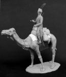 Рядовой полка Дромадеров, Франция 1800-01 гг. - Фигурка, смола (набор для сборки из 26 деталей). Размер 54 мм (1:30)