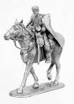 Конник Доватора - Не крашенный оловянный солдатик. Высота 54 мм.