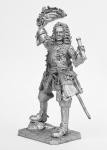 Князь Меньшиков в парадном мундире, 1710 - Не крашенный оловянный солдатик. Высота 54 мм.
