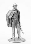 Леонид Брежнев - Не крашенный оловянный солдатик. Высота 54 мм.