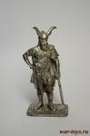 Вождь бронзового века, 800 лет до н.э. - Не крашенный оловянный солдатик. Высота 54 мм.
