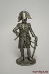 Маршал империи Луи-Николя Даву. Франция, 1806-15 гг. - Не крашенный оловянный солдатик. Высота 54 мм.