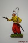 Офицер провинциальной пехоты йерликулу, 18 век. Османская импери