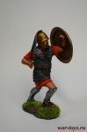 Тяжеловооруженный пехотинец священного отряда Карфагена, 3-2 вв