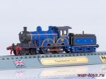 Масштабная модель поезда Claud Hamilton 2-2-0 1:160