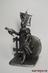 Вексиллярий армии Константина 312 год - Не крашенный оловянный солдатик. Высота 54 мм.