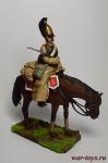 Рядовой кирасирского полка зимой 1812 года - Оловянный солдатик коллекционная роспись 54 мм. Все оловянные солдатики расписываются художником вручную