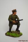 Младший лейтенант Пограничник, 1941 - Оловянный солдатик коллекционная роспись 54 мм. Все оловянные солдатики расписываются художником вручную