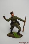 Пограничник, 1941 - Оловянный солдатик коллекционная роспись 54 мм. Все оловянные солдатики расписываются художником вручную