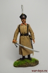 Казак с саблей - Оловянный солдатик коллекционная роспись 54 мм. Все оловянные солдатики расписываются художником вручную