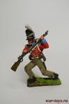 Стрелок португальских егерей касадорес 1808-1811 г.г. - Оловянный солдатик коллекционная роспись 54 мм. Все оловянные солдатики расписываются художником вручную
